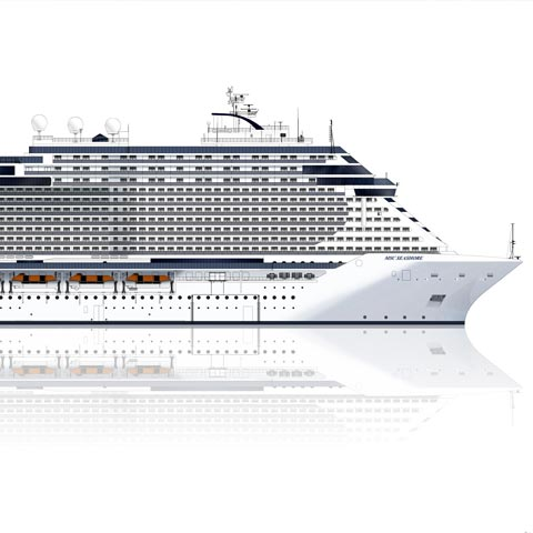 MSC Seashore: Vendite aperte