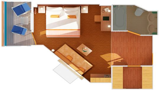 Junior Suite (vista ostruita)