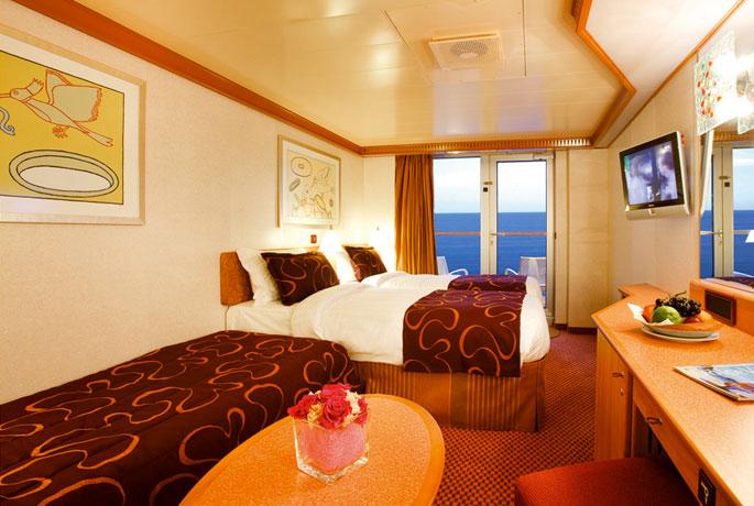 Scheda nave costa deliziosa con una lunghezza di 294m puo for Costa deliziosa ponti