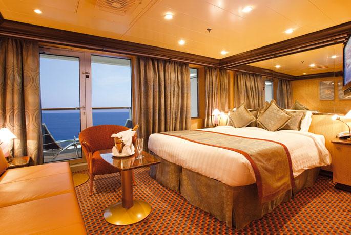 Scheda nave costa deliziosa for Salottino da balcone