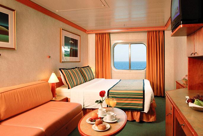 scheda nave costa mediterranea: con una lunghezza di 292m puo