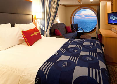 Deluxe Family Oceanview Stateroom