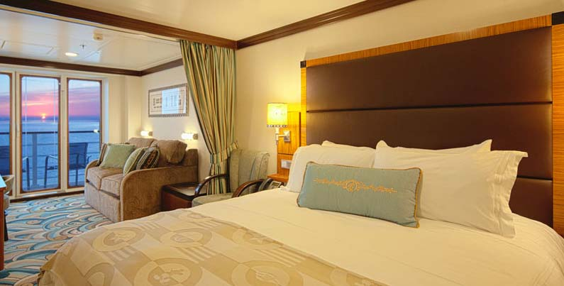 Concierge Family Oceanview Stateroom with Verandah