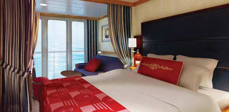 Deluxe Family Oceanview Stateroom with Verandah