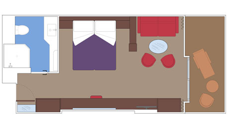Yacht Club Deluxe Suite