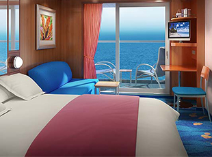 Cabina con balcone garantita Just Cruise