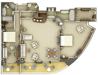 Grand Suite (2 bedroom)