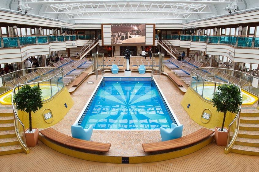 scheda nave costa deliziosa con una lunghezza di 294m puo