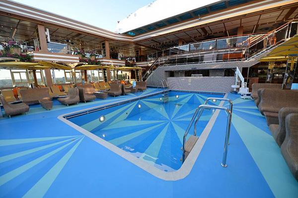 Scheda nave costa diadema con una lunghezza di 306m puo - Costa luminosa piscine ...